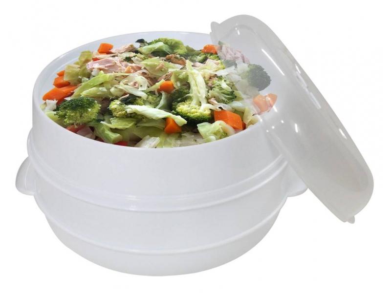 Recipientes para Cocinar al Vapor en Micrroondas Microwave Stemer