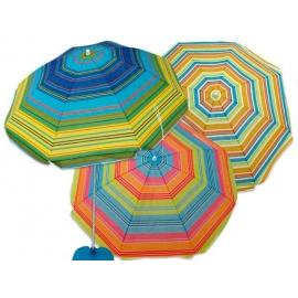 Sombrilla de Playa Multicolor 150cm