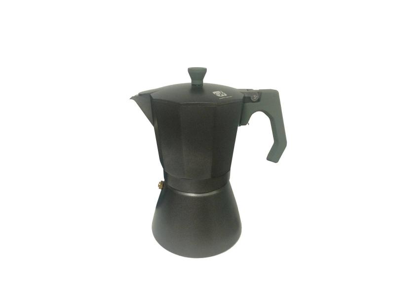 Cafetera de Aluminio 9 Tazas Induccion