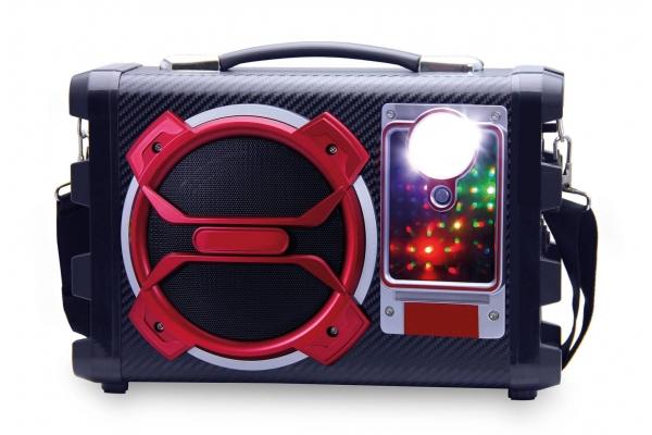 Altavoz Karaoke con Rafio FM 20w Dugan DG-KA02