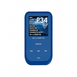 Reproductor MP4 Blusens 4GB P34