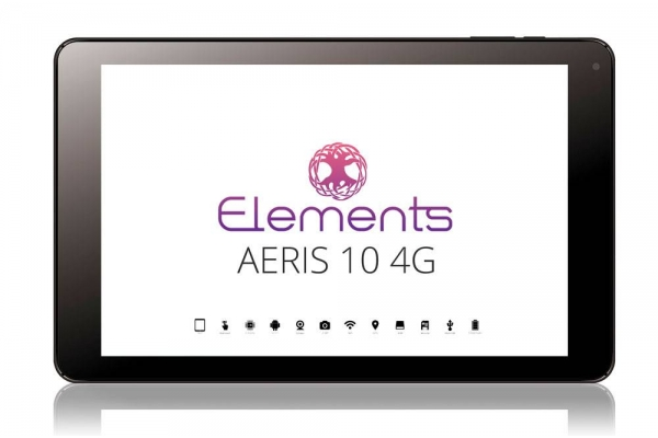 Tablet de 10 pulgadas Elements Aeris con conexión 4G