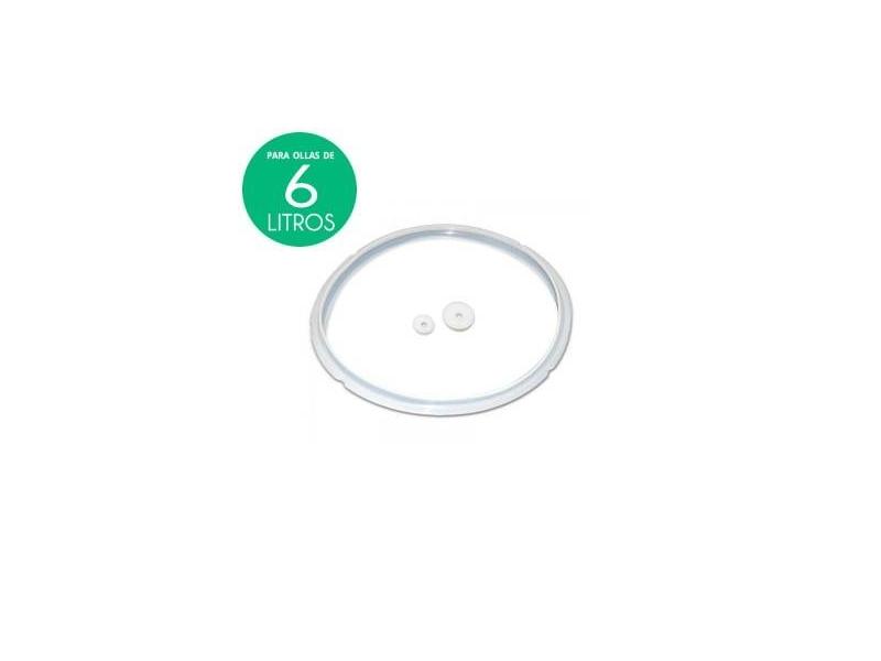 Goma de silicona de olla programable 6 Litros (kit de 3 juntas)