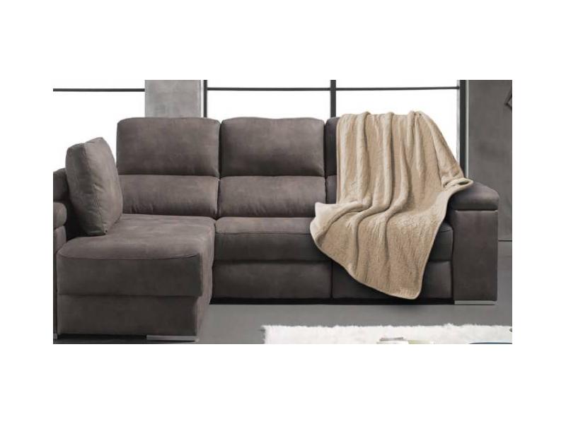 Manta sofa de pelo corto Wild