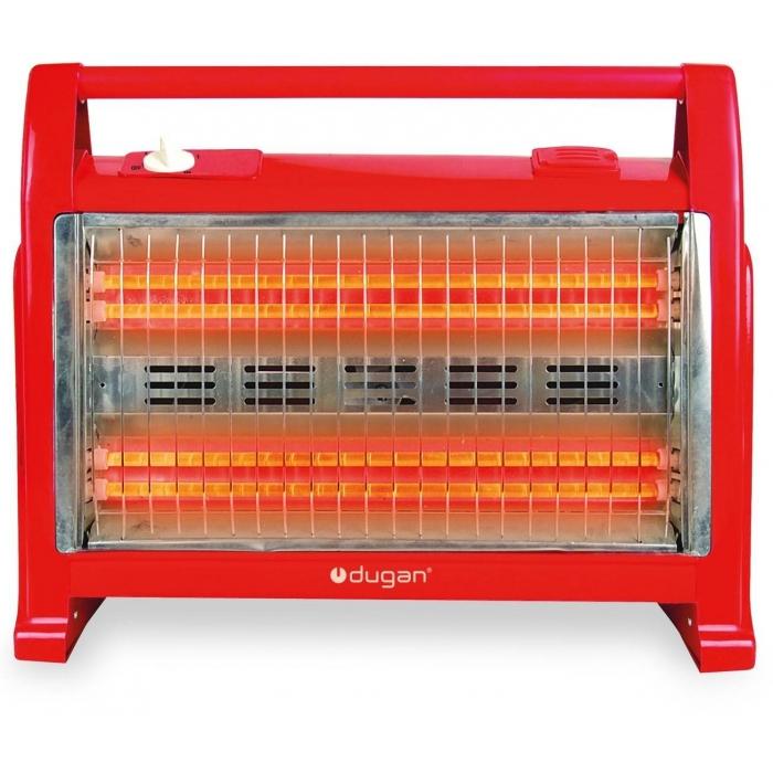 Calefactor de cuarzo de 2 barras Dugan CH05R