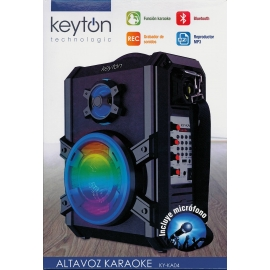 Altavoz con Karaoke Keyton KA04