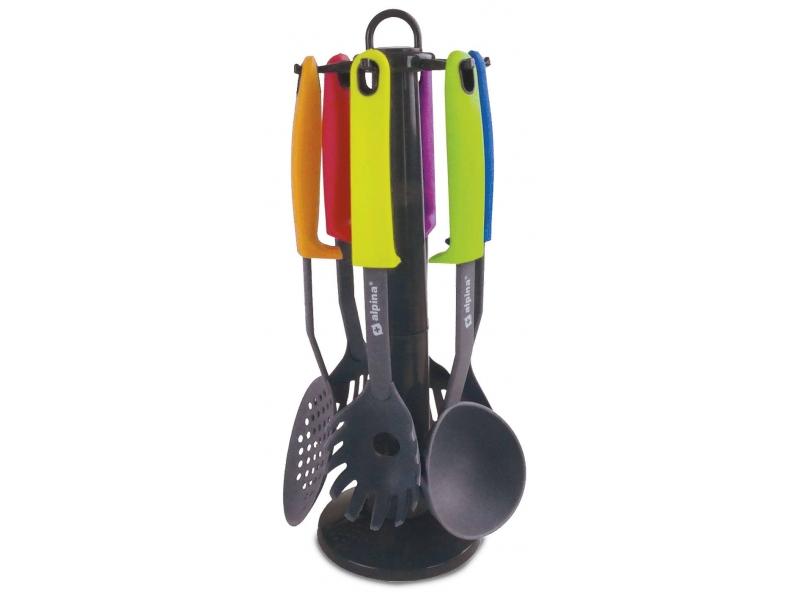 Prepara tus mejores platos juego de utensilios de cocina 7 for Juego utensilios cocina