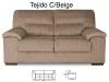 Conjunto sofás Premium 3+2 plazas Tela Antimanchas