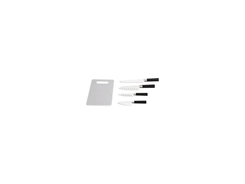 Cuchillo Ceramico Santoku + Tabla NewChef