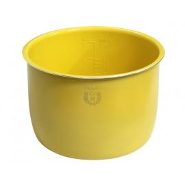 Cubeta Cerámica Amarilla 6 Litros