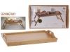 Bandeja para cama 50X30 Bambu