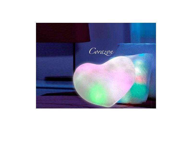 Cojín Led Corazón / Estrella