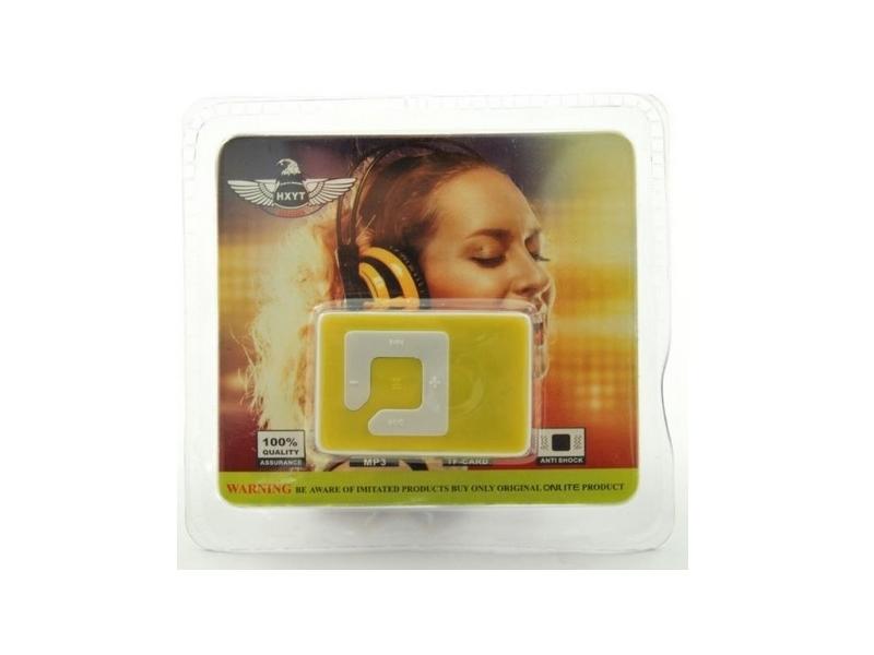 Reproductor MP3 Cajita Cristal