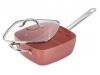 Sartén cuadrada cobre multifunción