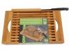 Juego Tablas de Corte Bambú con Cuchillo