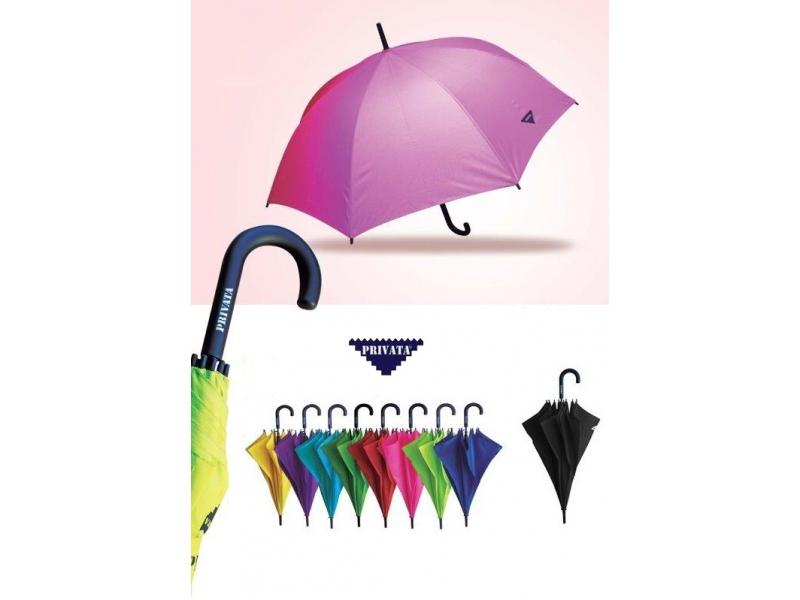 Paraguas Baston colores Privata