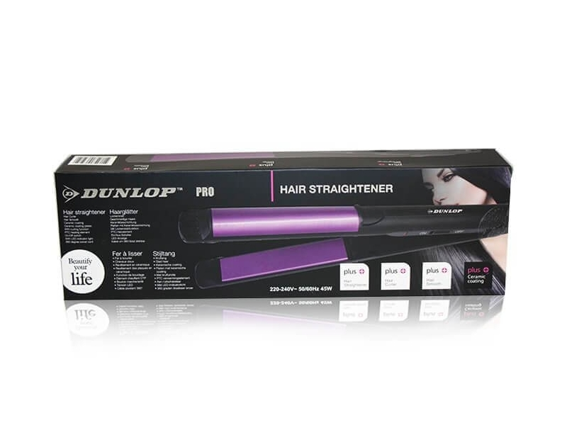 Plancha Pelos Dunlop