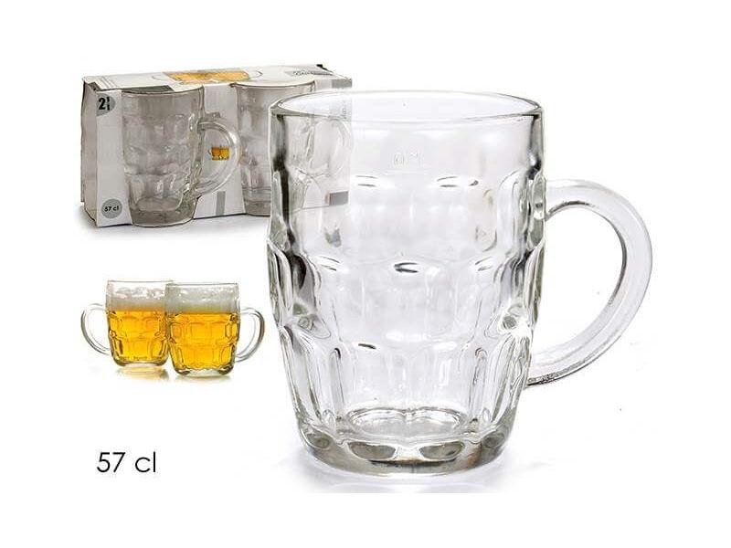 Set 2 Jarra Cervezas 57 cl