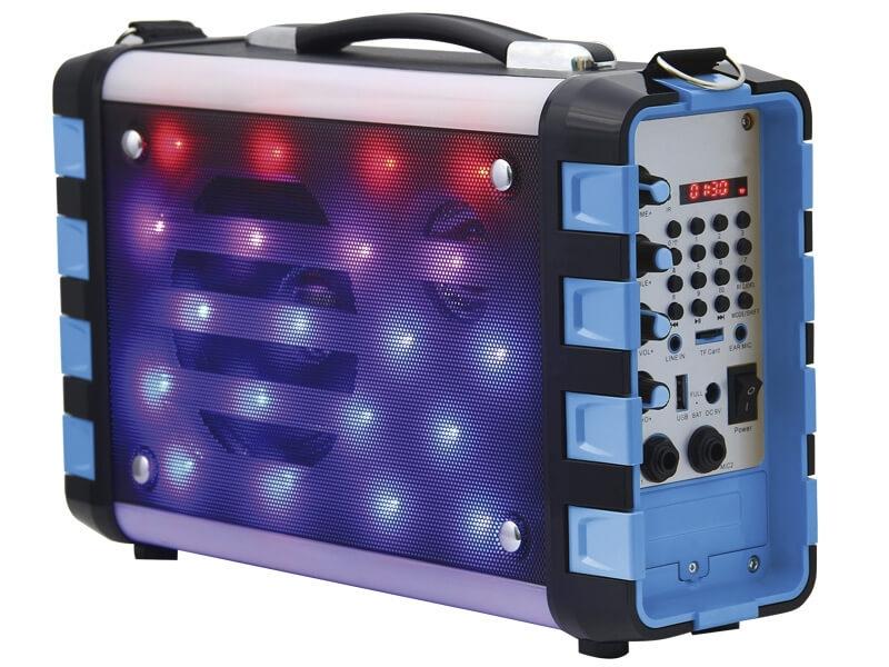 Altavoz Karaoke Luces NK-9359