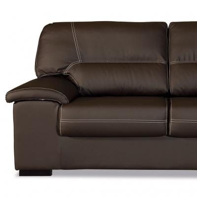 Comprar sof premium 3 plazas piel sint tica for Sofas de piel en barcelona
