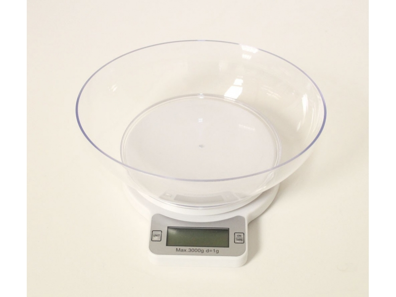 Comprar b scula de cocina con bol for Bascula de precision cocina