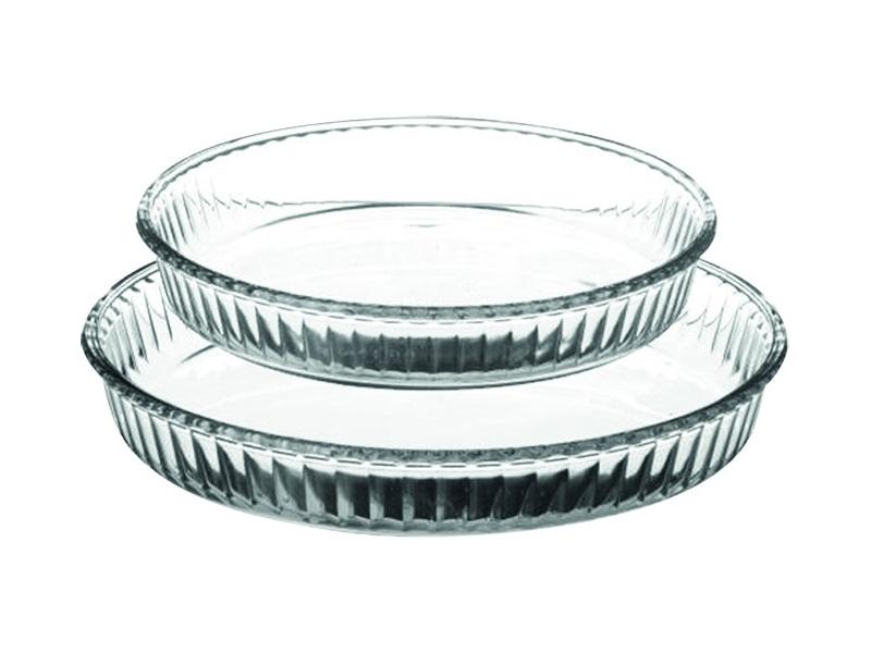 Fuente de cristal para horno