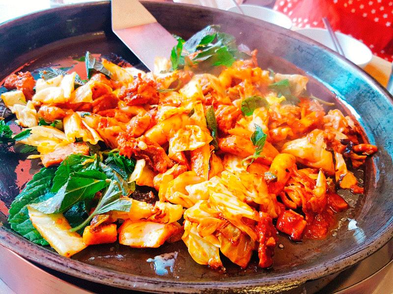 Receta De Pollo Con Verduras Oriental Con Vaporera