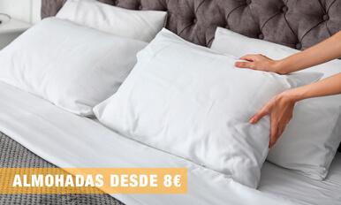 Almohadas desde 8 euros