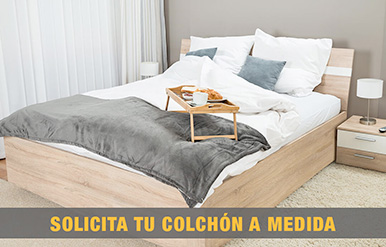 Solicita tu colchón a medida
